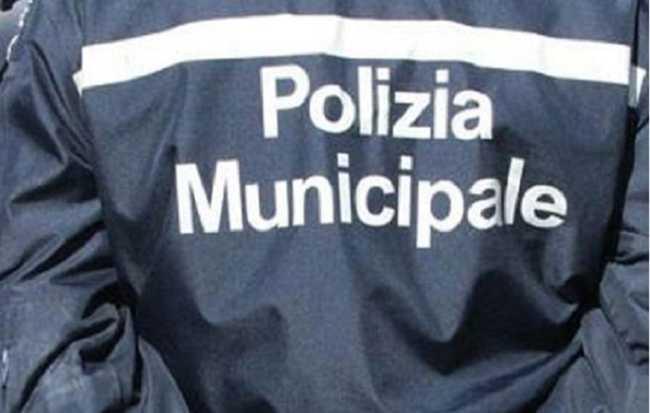 polizia municipale giacca