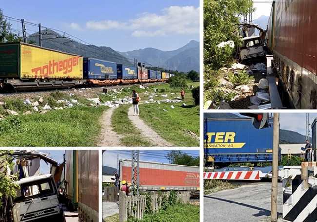 treno ornavasso camion